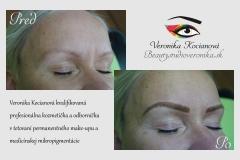 Najkrajší permanentný make-up Veronika Kocianová