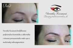 Najkrajší profesionálny permanentný make-up Veronika Kocianová