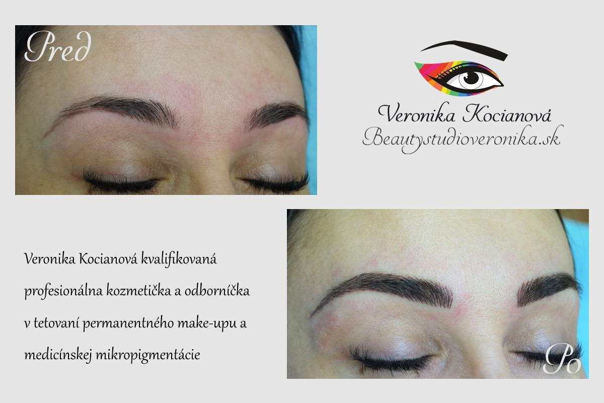 Najlepší profesionálny permanentný makeup Veronika Kocianová