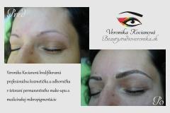 permanentný make up čiarkovanou metódou VERONIKA KOCIANOVÁ