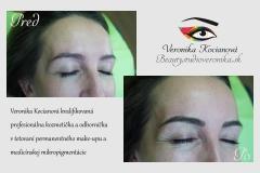 Permanentný make-up obočia cenník Bratislava