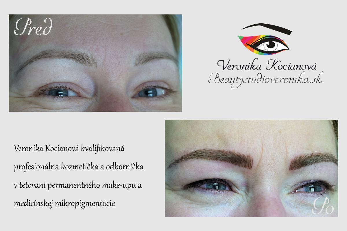 Permanentny make up obocia Veronika Kocianova