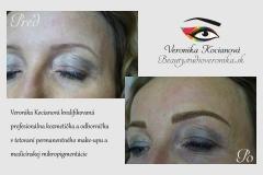 Permanentný make-up  obočia Veronika Kocianová Bratislava