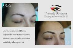 Permanentný make-up  obočie Veronika Kocianová Bratislava