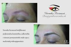 Profesionálny Permanentný make-up  Veronika Kocianová Bratislava