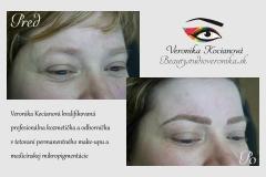 Tetovanie Microblading Permanentný makeup