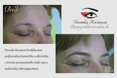 tetovanie permanentného make-upu Veronika Kocianová