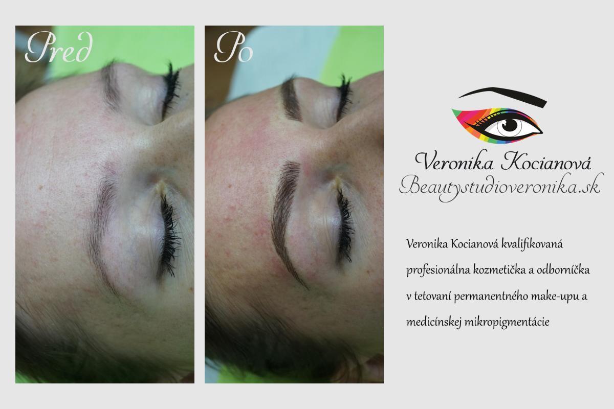 Permanentný make-up Veronika Kocianova
