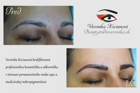 Permanentný Make-Up Microblading