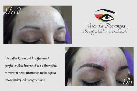 Permanentný make-up tetujem strojčekom a nie čepieľkou | Veronika Kocianová