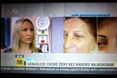 Veronika Kocianová v Teleráno/TV Markíza,