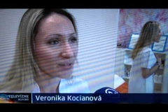 Veronika Kocianová v TV Markíza/TV Noviny